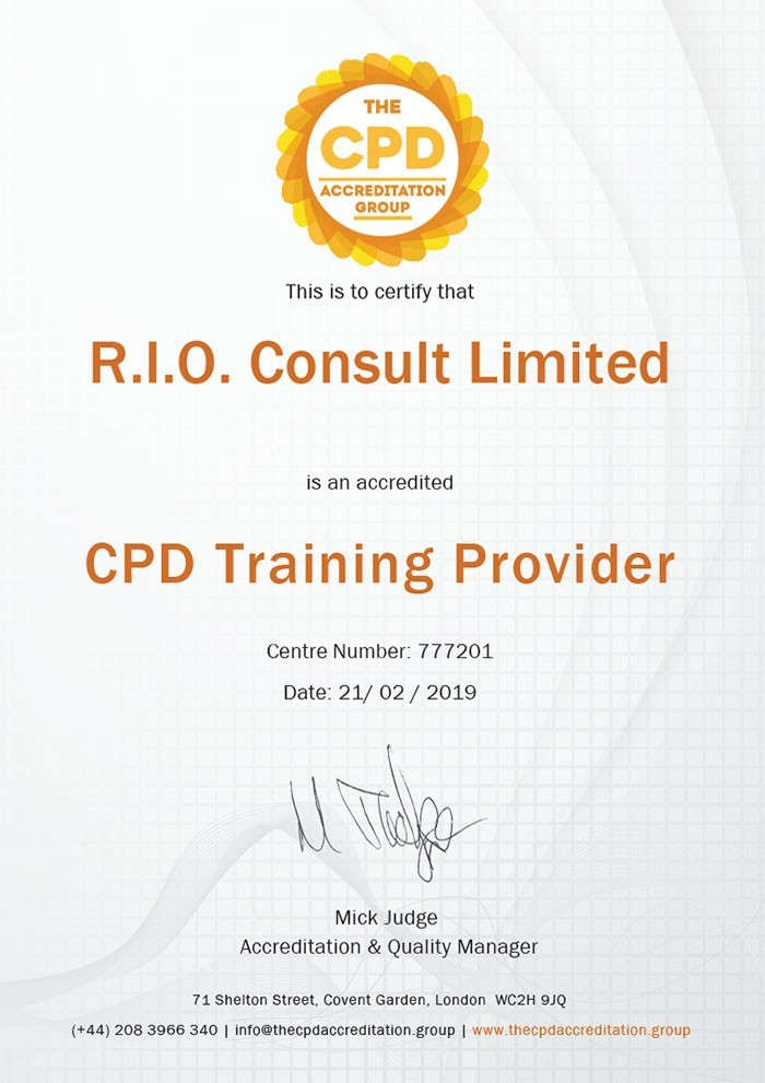 CPD Training Provider