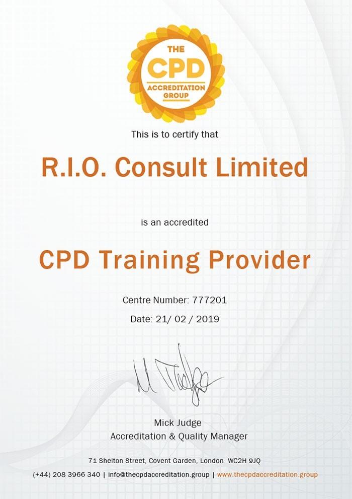 CPD Training Provider