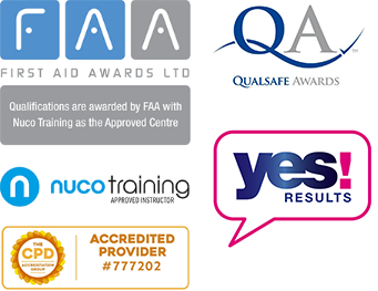 First Aid Awards, Nuco Training, CPD